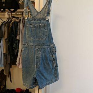 Gap size medium overall shorts